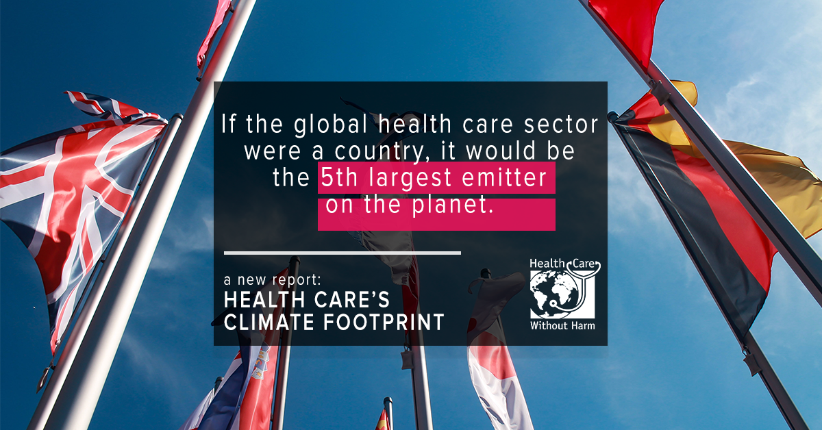 health care's climate footprint